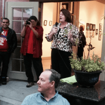 Toni Atkins welcomed home by San Diego Democrats for Equality Club