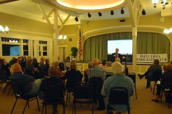 Howard Wayne our featured speaker