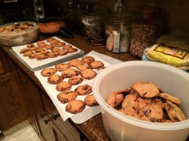 There were cookies
