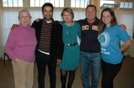 Barbara, Daraka, Susan, Richard & Gretchen