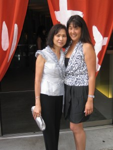 Donna (left) and Leslie (right) Fong.