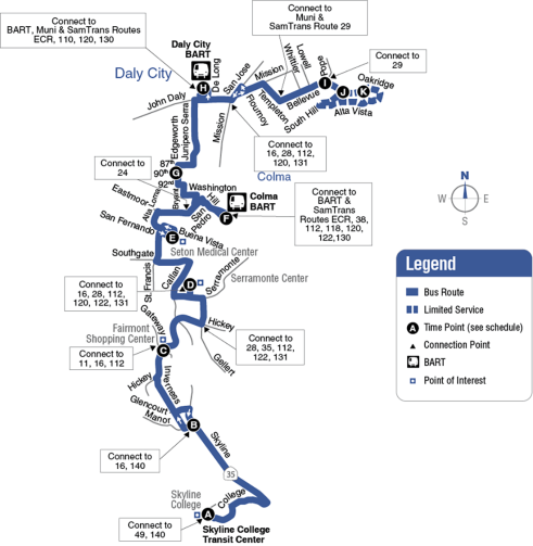 Route 121 Map