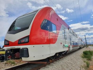 EMU on Test Track