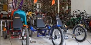 """El impacto que han tenido dentro del comercio turístico ha sido satisfactorio y lleno de alegrías, ya que aseguran que """"este espacio es suyo, nosotros sólo facilitamos el que puedas tener la bicicleta""""."""