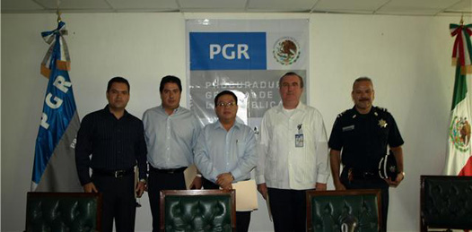 Inició PGR el curso «Procesamiento del Lugar de los Hechos»