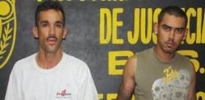 José Andros Calderón Ojeda y Héctor Manuel Pedrín Aguilar.