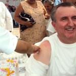Los funcionarios federales de las diversas dependencias que acudieron a Loreto, se integraron a las acciones de Salud que desarrolló el ISSSTE.