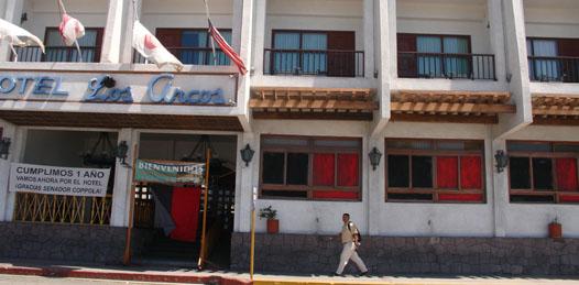 A tribunales colegiados el caso del Hotel Los Arcos