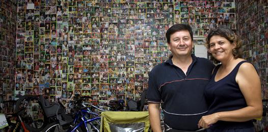 Adso & Nara, mucho más que un negocio de bicicletas /Parte I