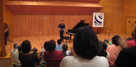 Exitoso concierto del pianista Bautista Cano