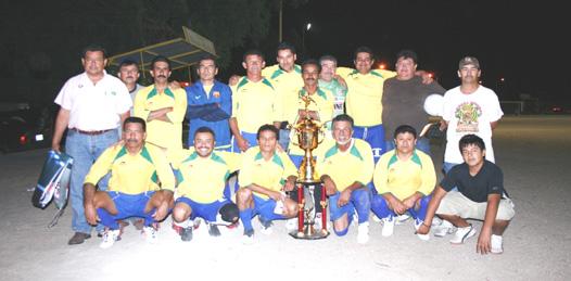 Camulocopa Yaquis se proclamó campeón