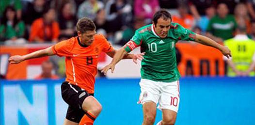 Pierde México con Holanda, 2-1