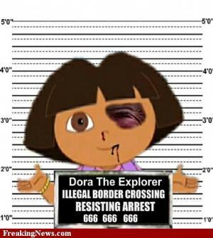 Dora la Exploradora, víctima de la SB1070