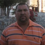 Efraín Alejandro Lastra Salvatierra, presidente del comité pro-fiestas de San Ignacio (Enrique Montaño).