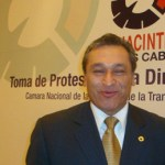 Ingeniero Sergio Cervantes, presidente nacional de Canacintra.