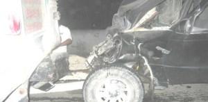 Edwin Daniel Arias Hidalgo y Bruno Iranza, de21 y 45 años de edad, resultaron lesionados de consideración, luego de que protagonizaran un accidente carretero, el primero en el tramo Cabo San Lucas. Todos Santos y el otro en el Tramo Cabo San Lucas, San José de Cabo.