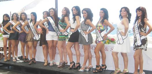 Doce bellas chicas se disputarán el título Nuestra Belleza BCS