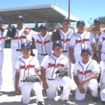 """Los Dragones de Ramón """"Moncho"""" Meza, subcampeones de la pre-junior en la Liga Roberto Ibarra de beisbol."""