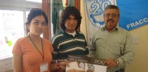 En el marco de sus actividades de educación cívica, el  IFE a través de universitarios llevó a cabo la distribución del Calendario de Efemérides Nacionales 2010.