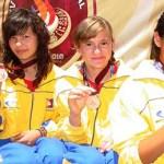Relevo 4x75 metros infantil menor femenil conformado por Alejandra Fiol, Jessica Hernández, Claudia Salgado y Yuli Verdugo, hizo buenos los pronósticos.