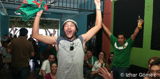 La afición celebró la victoria en El Salsipuedes