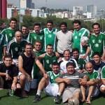 Trabajadores del Sindicato Nacional de Trabajadores del Seguro Social (SNTSS) de BCS, Campeones Nacionales de Futbol.