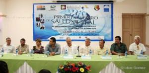 El secretario de salud, Francisco Cardoza Macías, encabezó el acto inaugural del Primer Encuentro de Salud Mental, organizado en el marco del vigésimo aniversario del hospital psiquiátrico de Baja California Sur.
