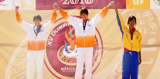 Ganó Angélica Valenzuela bronce en salto