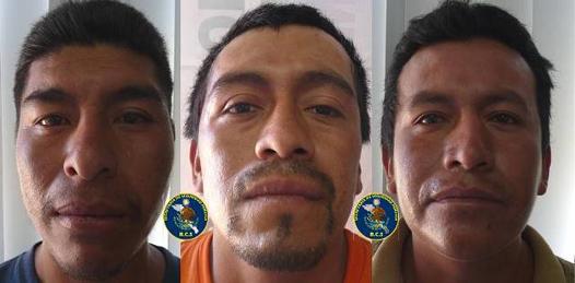 Detiene PEP a tres asaltantes en el Centro de La Paz