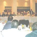 Durante la reunión que sostuvieran integrantes del Consejo Coordinador de Los Cabos, se pidió entre otras cosas al Alcalde cabeño, la derogación de la ley seca, transporte, par vial y diversos problemas más (Lupita Gómez)