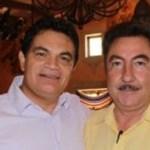 El gobernador de BCS con el virtual gobernador de Sinaloa en reunión que concretaron en mayo pasado.