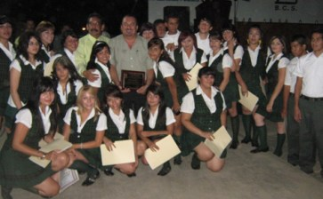 Egresan 90 estudiantes del COBACH de Santa Rosalía