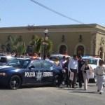 Las unidades de emergencia como Cruz Roja, Protección Civil y Bomberos espantan a los turistas al salir con las sirenas a todo volumen por las calles del centro de San José.