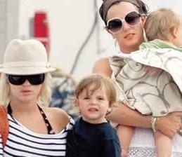 Los hijos de la princesa del pop no viven en un cuento de hadas
