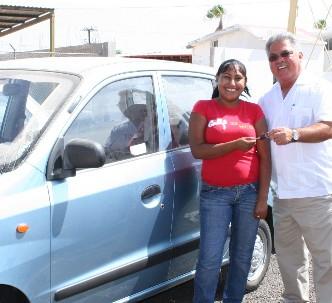 Hasta Insurgentes se fueron los 2 autos rifados en la Expo Comondú