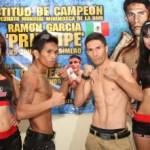 """Ramón """"Príncipe"""" García se vio las caras con el campeón filipino Casimero."""