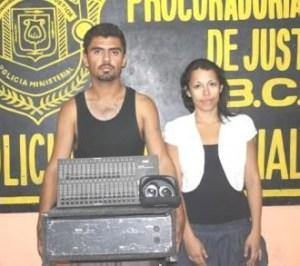 Mario Enrique Flores Ruvalcaba y América Rodríguez Rubio.