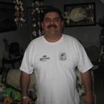 """Jorge Márquez Navarro, presidente del Club de Caza, Tiro y Pesca, Cachanía A.C., institución organizadora del """"Torneo Internacional de Pesca Deportiva del Dorado 2010"""" (Enrique Montaño)."""