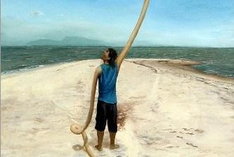 Desierto Negro, la propuesta visual de Elti López