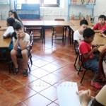 Este viernes pasado fue la clausura de los cursos y los niños expusieron los trabajos realizados a lo largo de estas tres semanas de diversión entre libros viejos y juegos.