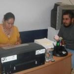 Ante la licenciada Karla Villalobos, se presentó Luis Armando para interponer denuncia en contra de un grupo de asaltantes, secuestradores y ladrones que integran el Grupo GERI, de la policía municipal.