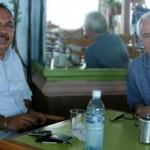 El Senador de la República, Luis Coppola Joffroy, durante encuentro con el diputado Jorge Miguel Cota Katzenstein.