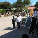 Con un acto cívico el ejército conmemoró la defensa de la Gesta Heroica de Chapultepec el día de ayer (Enrique Montaño).