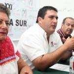 El PRI no recibirá a Marcos Covarrubias en caso de no ser electo candidato oficial por la gubernatura del Estado, así lo señaló Ricardo Barroso, presidente estatal del PRI.