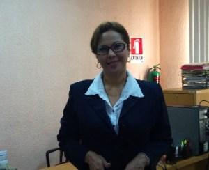 """Susana Casare, encargada del proyecto de """"Historias de Familias"""" en el estado por parte de la Oficina de Servicios Federales de Apoyo a la Educación en el estado de Baja California Sur (OSFAE)"""