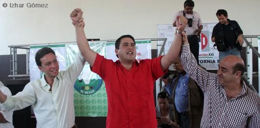 """Oficializa el CEN del PRI la candidatura de Barroso. """"Es tiempo de los jóvenes"""", dice"""