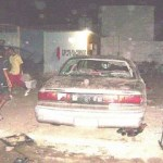 Fuerte despliegue militar y policíaco provocó una balacera registrada en un taller mecánico situado en la colonia 8 de Octubre II Sección en esta ciudad, donde se localizó una crianza de gallos de pelea.