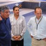 En un acto encabezado por el gobernador Narciso Agúndez, Fernando Landeros y Mauricio Vázquez Ramos de la Fundación Teletón así como por el obispo Miguel Ángel Alba Díaz, fueron recibidas las instalaciones del CRIT-BCS