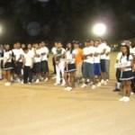 Se llevó a cabo la inauguración del torneo de beisbol que organiza la Escuela Superior de Cultura Física.