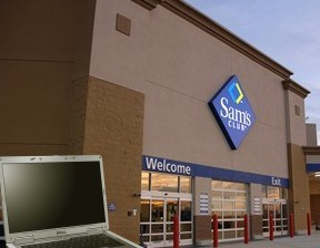 Empleado de Sam´s Club intentó robarse una laptop